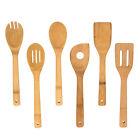 6 Piece Set: Home Basics Bamboo Kitchen Tools