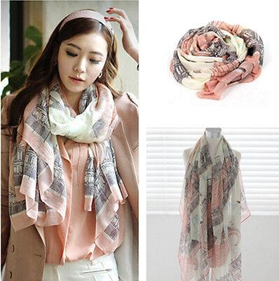 Fashion Women Long Cotton Scarf Wrap Ladies Shawl Girls Large Silk Scarves  W87