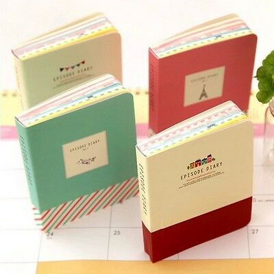"""Mini Episode"" 1 pc Mini Diary Pocket Planner Memo Notebook Free Note Cute Gift"