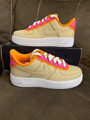 Women's Nike Air Force 1 '07 SE Low Shoe Size 5 Desert OreBrown AA0287 202 | eBay