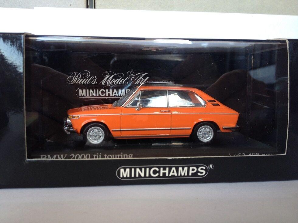 MINICHAMPS 1 43 BMW 2000 Tii Touring 1972 400021110