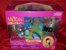 NEW Disney Mulan Brave Journey Polly Pocket Playset Tiny Collection