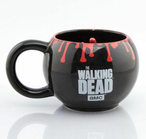 Hand 3D Walking Dead Mug Keramik Tasse gewölbt Becher Ø11 H8,5 cm The
