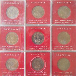 One-1970-Australia-50c-Captain-James-Cook-Coin-Specimen-coin-In-original-case
