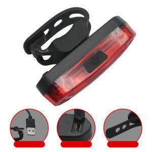 USB Rechargeable Mode LED Lumière de Vélo Cyclisme Devant Feu Arrière