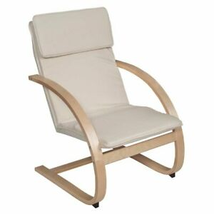 Incredible Details About Regency Mia Reclining Chair In Natural And Beige Machost Co Dining Chair Design Ideas Machostcouk