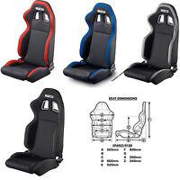 Sparco R100 Racing Seat Street Black Black/grey / Black/red / Black/blue