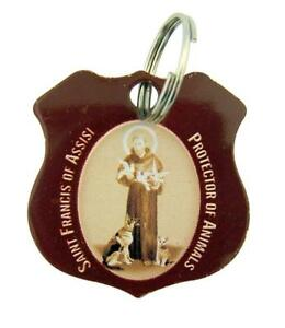 Stainless-Steel-Saint-Francis-of-Assisi-Protector-of-Animals-Pet-Medal-1-1-4-In