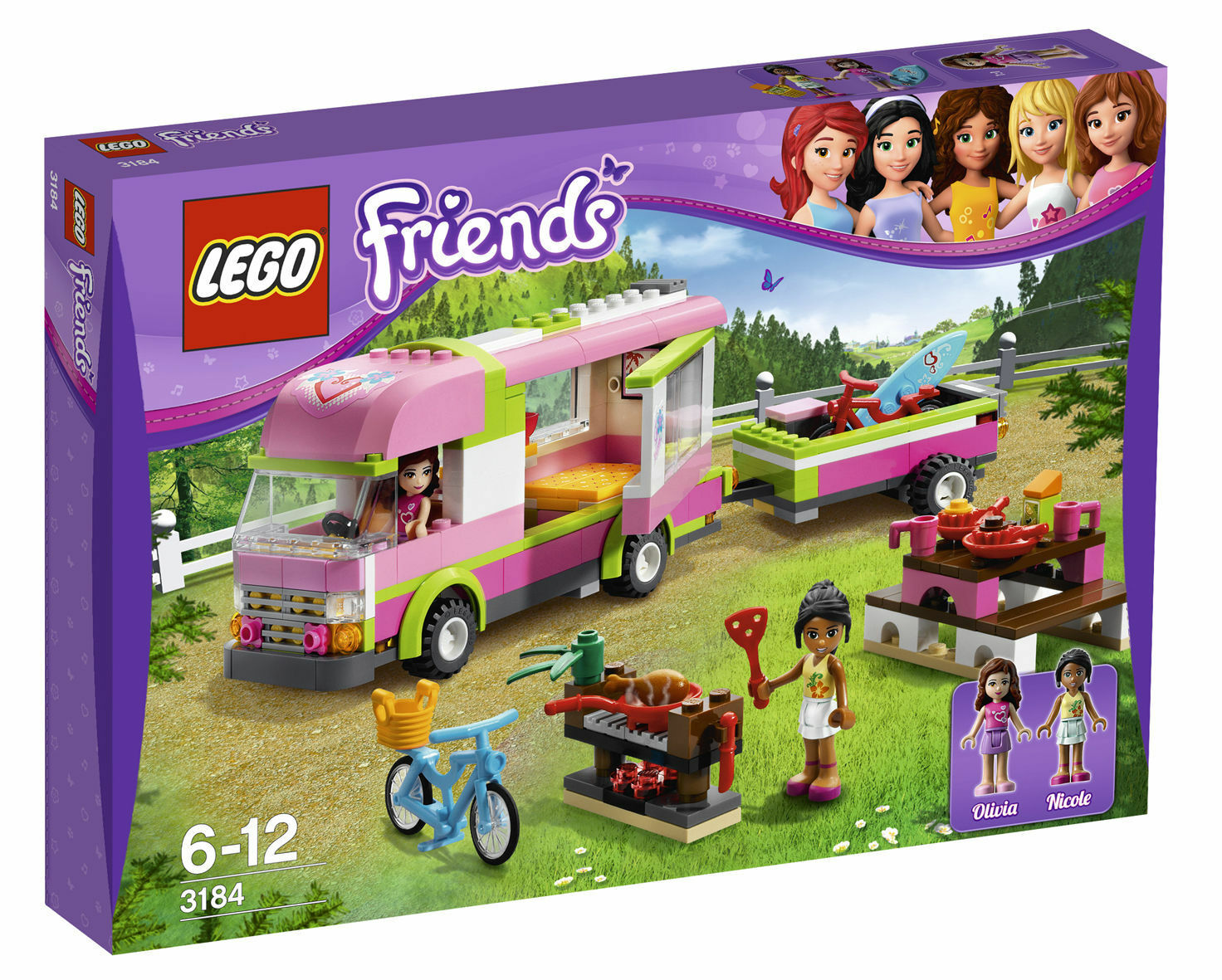 LEGO Friends aventure camping-car (3184)