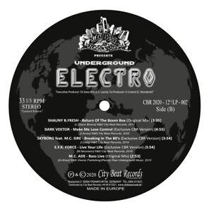 CBR Underground Electro (2020) * Bass, Electro, Rap, Funk, Vocoder * BREAKDANCE * LIMITED *
