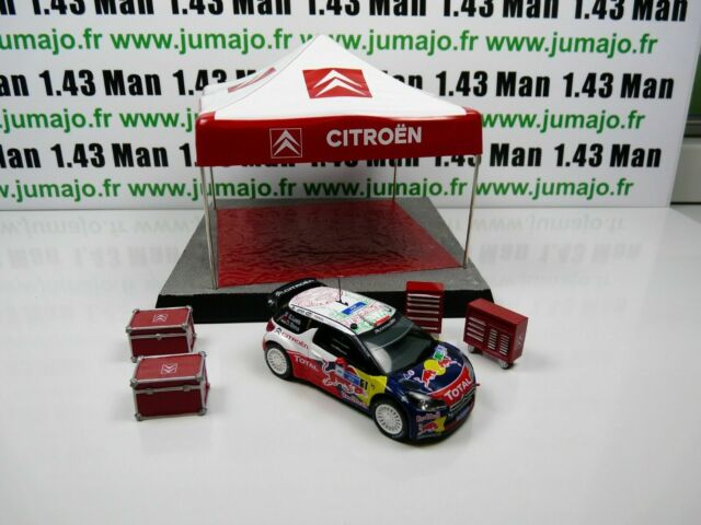 lot Ixo eaglemoss 2 Sébastien LOEB 1//43 CITROËN DS3 WRC 2011//2013 Carlo Mexique