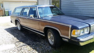 88 Mercury Stationwagon CLASSIC!