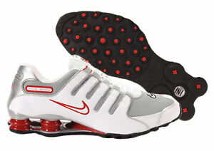 b24a970e7d007a Image is loading Mens-Nike-Shox-NZ-Premium-Sneakers-New-White-