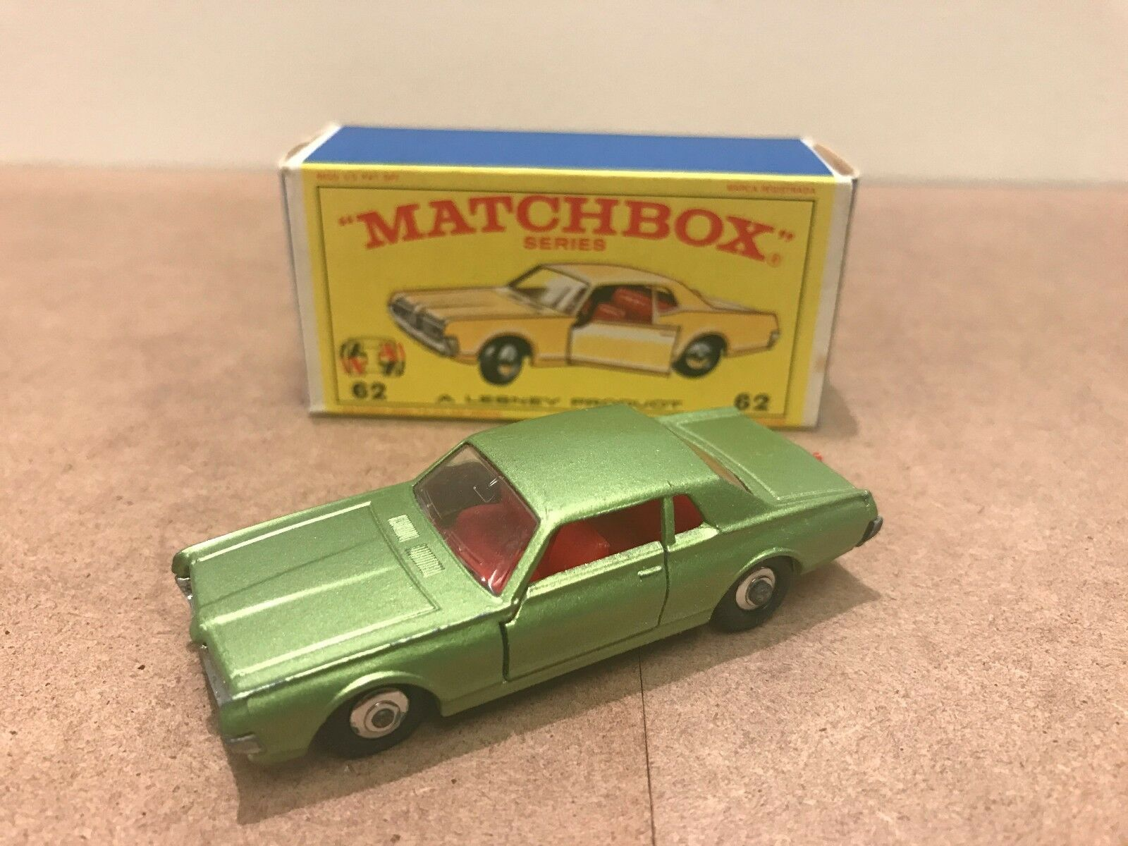 Matchbox Lesney Mercury Cougar In excellent used condition, comes with orig
