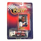 Jeremy Mayfield Mobile 1 Ford Taurus #12 NASCAR 1/64 Scale 1998 Winners Circle