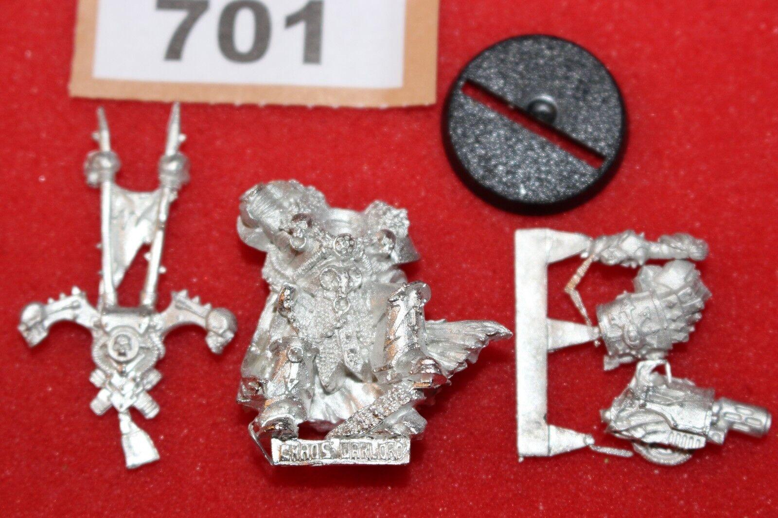 Games Workshop Warhammer 40k Chaos Space Marines Lord Metal Mint New OOP GW