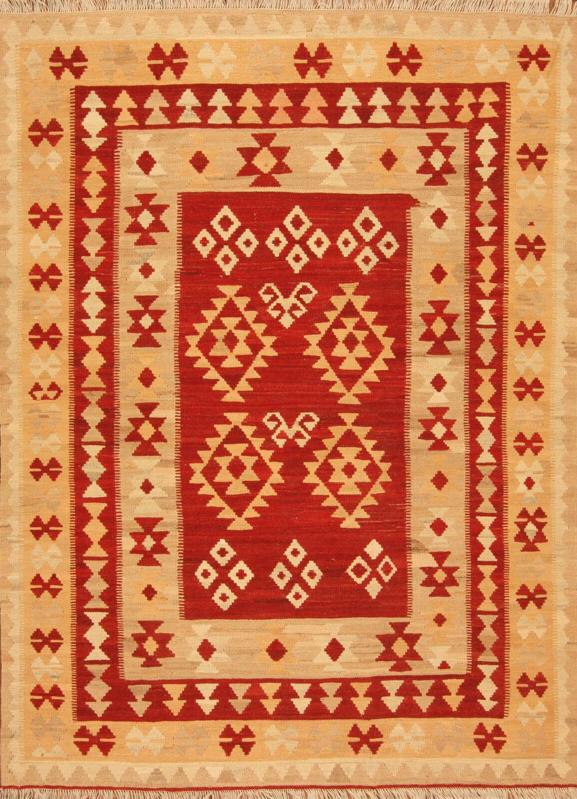 Orient alfombra handgewebter Kilim 1630 (201 x 146) cm nuevo puente alfombra persa