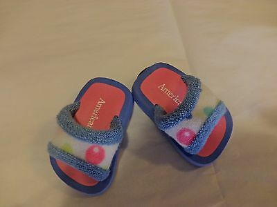 AMERICAN GIRL Doll BUBBLE Robe Outfit SLIPPERS ONLY