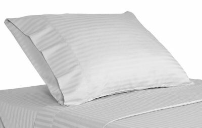`Brand New 2 QTY Pillow Case 1000 Thread Count Egyptian Cotton White Solid