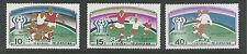 KOREA # 1654-1656 MNH WORLD SOCCER CUP 1978, ARGENTINA