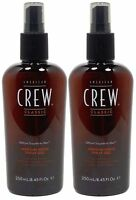 American Crew Medium Hold Spray Gel 8.45oz Pack Of 2
