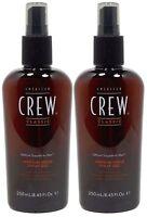 American Crew Medium Hold Spray Gel 8.45oz Pack Of 2