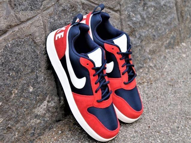 Nike Men's  COURT BgoldUGH LOW PREM Sneakers shoes  844881 401 UK 7.5