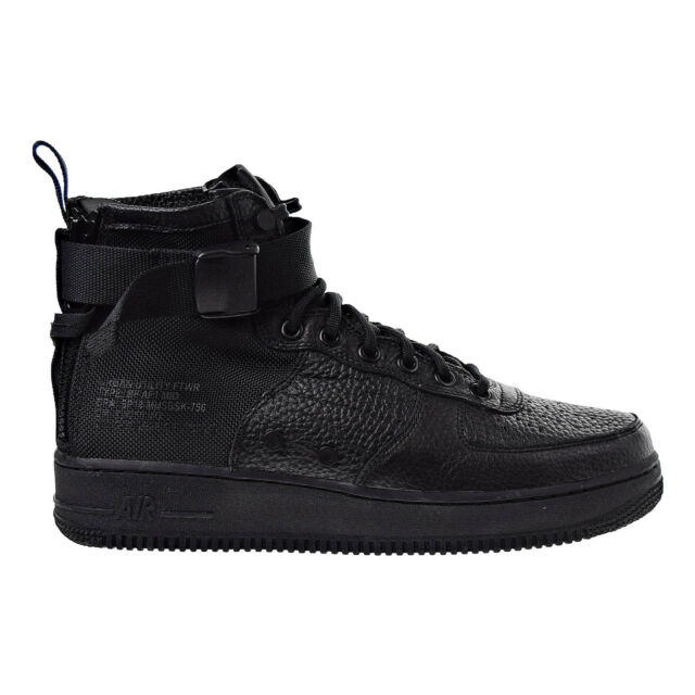 Nike Mens SF Af1 Mid Triple Black Size 11 917753 005 Air Force 1