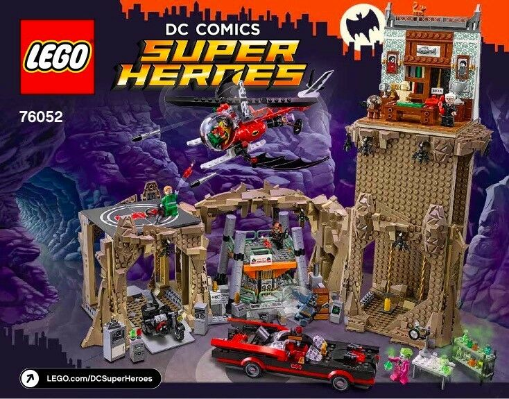 LEGO Super Heroes Batuomo classeic  TV Series Batcave 76052 Bre nuovo Retiring Soon  risparmia il 60% di sconto e la spedizione veloce in tutto il mondo