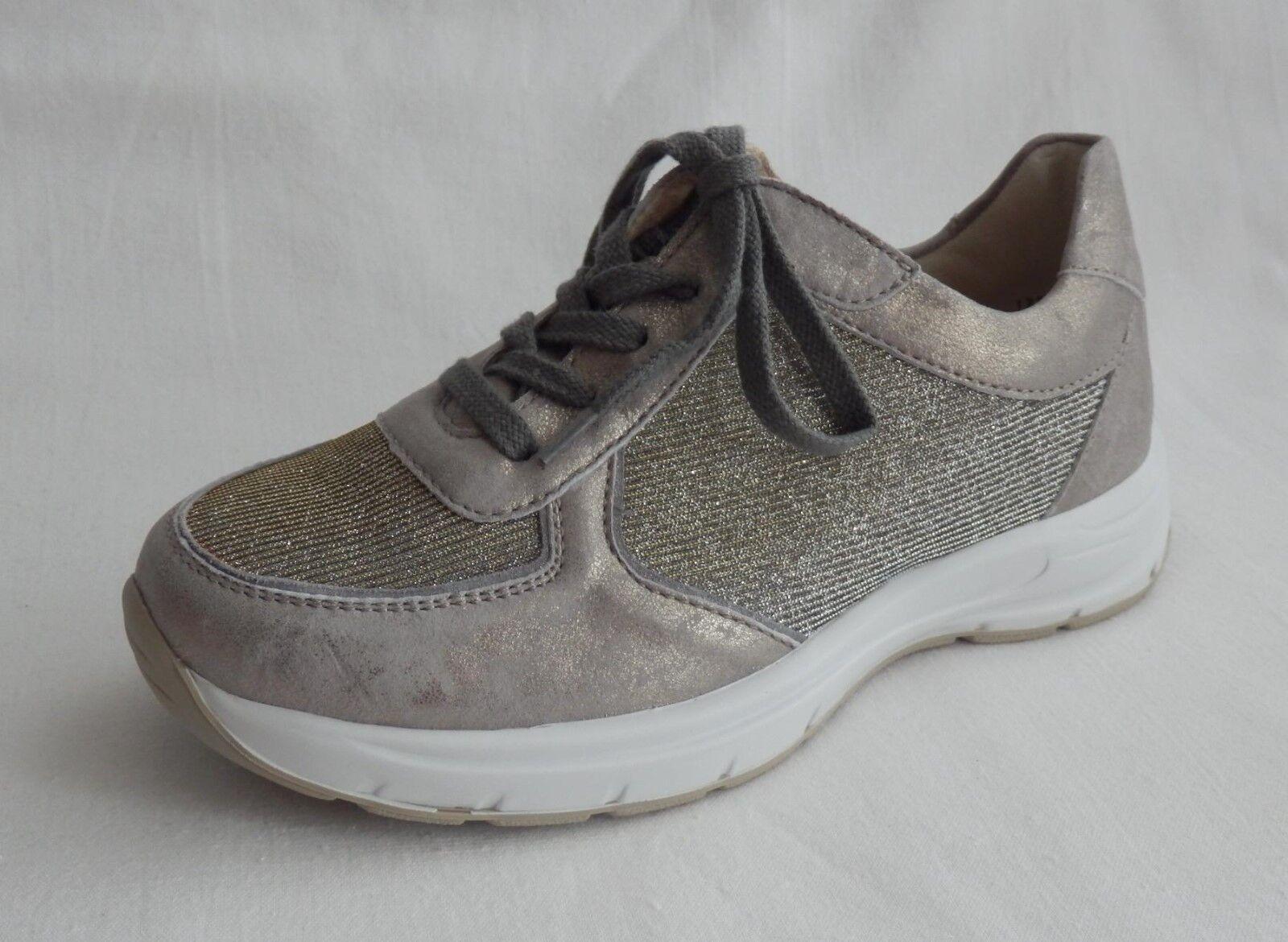 Semler Sneaker Grigio Oro Nubuck NUOVO Larghezza H Tg. 33 NUOVO Nubuck bdc2fd