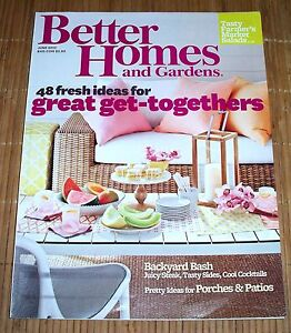 Better Homes And Gardens Magazine June 2013 Taste Of