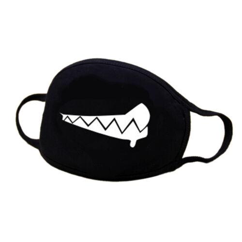 Unisex Cotton Emoji Anime Mouth Face Mask Anti-Dust Mask Cycling Respirator Mask