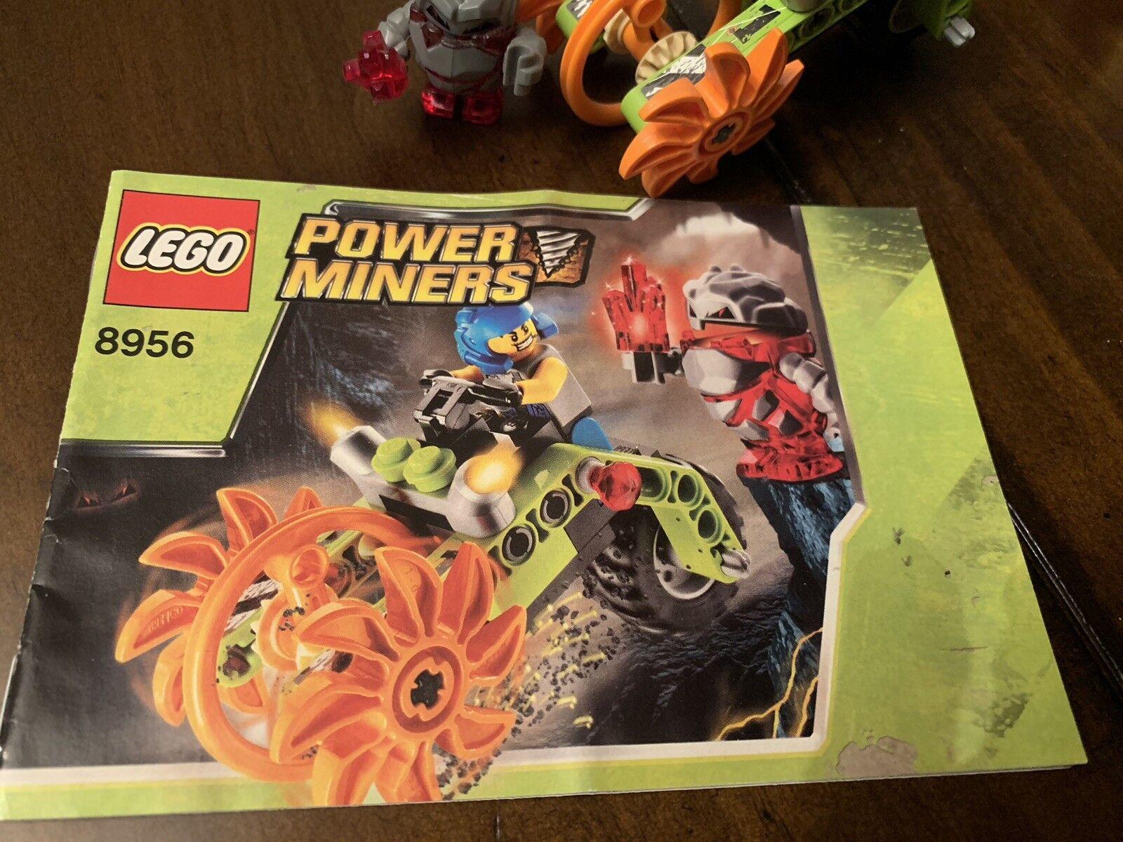 Lego Power Power Power Miners Stone Chomper 8956 c32f89