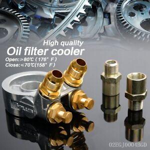 GPLUS-AN10-Oil-Filter-Cooler-Sandwich-Thread-Plate-Adapter-80-deg-Thermostat
