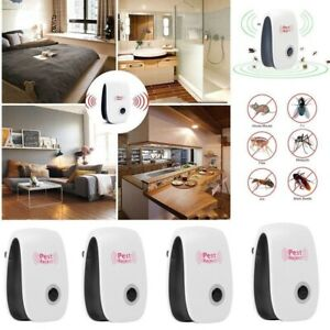 Ultrasonic-Pest-Repeller-Control-Reject-Insect-Mosquito-Rodent-Bug-Plug-In-4Pack