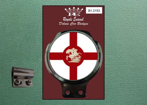 Classic Car Badge /& Bar Clip ST GEORGE DRAGON ENGLAND Ulma Vigano B1.2153