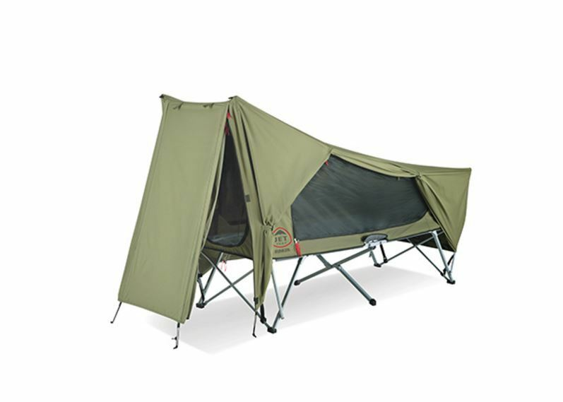 NEW OZTENT  JET TENT BUNKER STRETCHER SUPERFINE INSECT MESH 1 PERSON CAMPING HIKE  official website