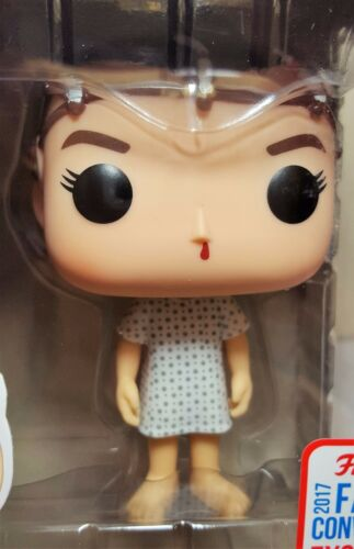 Funko Pop Eleven with Electrodes # 523 Stranger Things NYCC Exclusive Vinyl New