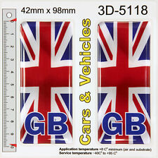Stickers United Kingdom UK Union Jack Gel Domed Resin 3D Flags Vinyl Sticker