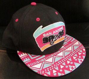 timeless design 4c1eb a8877 Image is loading NBA-San-Antonio-Spurs-Basketball-Cap-Snapback-Hat-