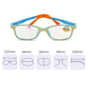 Kids Gaming Eyeglasses Blue Light Blocking Filters Glasses