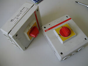 ABB-OTP-16BA4MS-Ue-V500-Drehschalter-Schalter-Hauptschalter-Freischalter-25Amax
