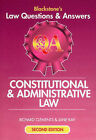 Blackstone's Law Questions and Answers - Constitutional and Administrative Law by Jane Kay, Richard Clements (Paperback, 2001)