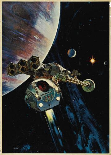 A space odyssey Stanley Kubrick movie poster print #22 2001