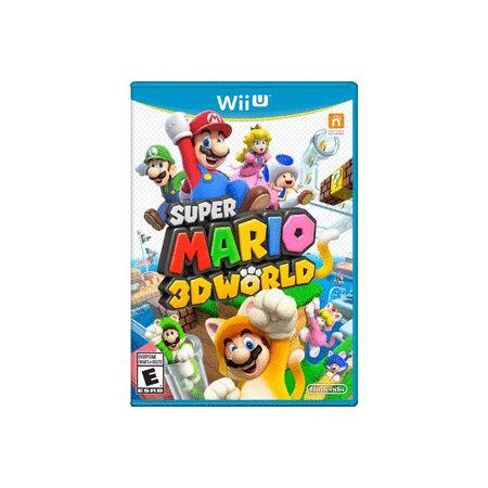 -= Super Mario 3D World - Nintendo Wii U - new, sealed! =-