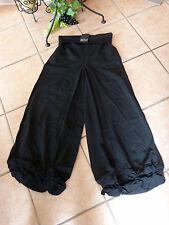 BORIS INDUSTRIES Knoten Hose LAGENLOOK 48 50 52 NEU schwarz Stretch Baumwolle