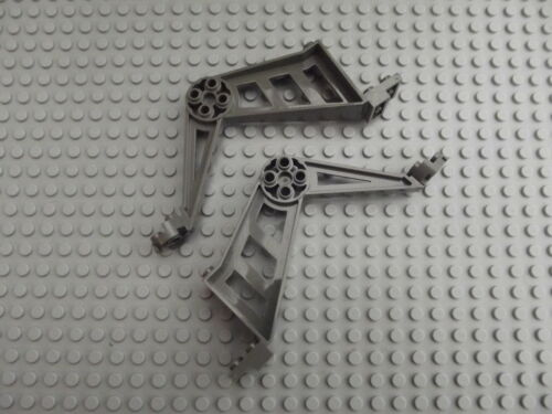 2 Lego Dark Grey Support Leg Large Mindstorms RCX No.30212 Spares Insectoids