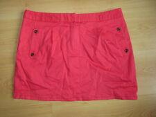mini jupe Caroll Rouge Taille 42 à - 56%