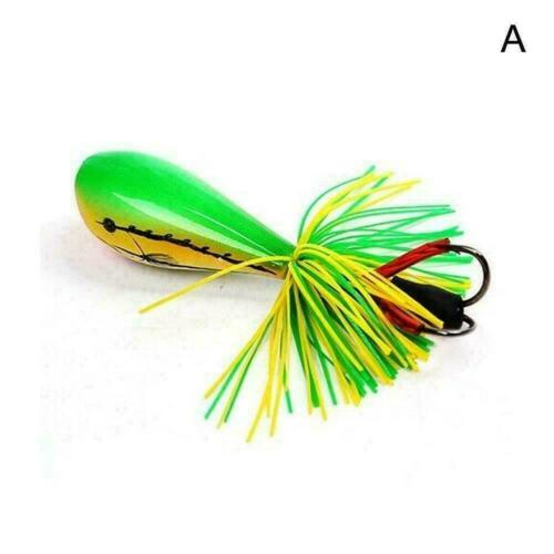 Jumping Frog Lure Topwater Lure 90mm 10g Double Strong Jump Hook N2F Action P5G5