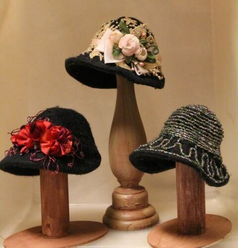 """CIRCA 1918-1920 *NEW* CRAFT PATTERN /""""LADIES AFTERNOON HATS/"""" BY SYLVIA SCHORR"""
